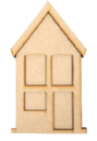 Dimensional Art Mdf Town House